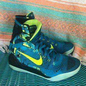 Nike Kobe IX 9 Elite Perspective Neon Turquoise